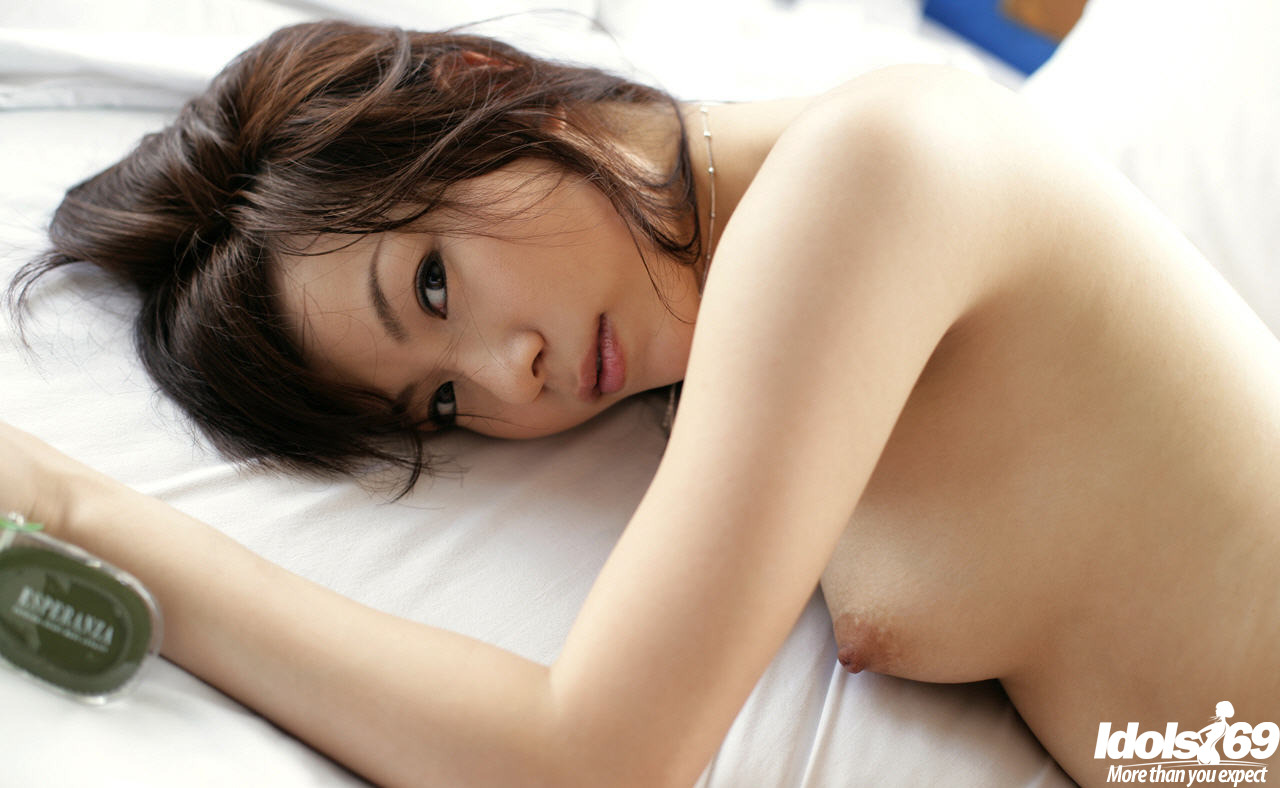 Asian shaved anal